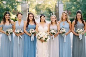3 Incredible Ways to Coordinate Bridesmaid Dresses